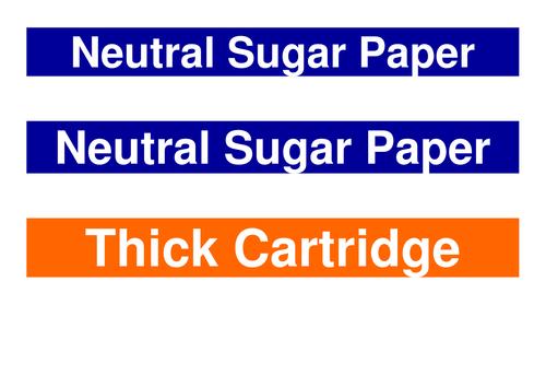 Paper Organisation Labels