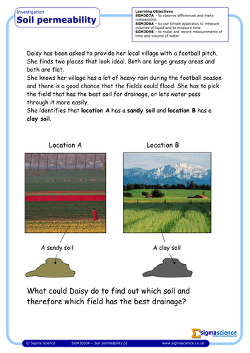 Sgm3da01 rocks and soils by sigmascience uk teaching for Types of soil resources