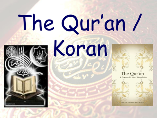 THE QUR'AN & THE MOSQUE powerpoints