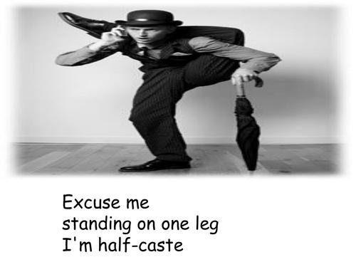Half Caste by John Agard