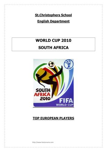 Writing to Inform: Football Themed SEN Resource