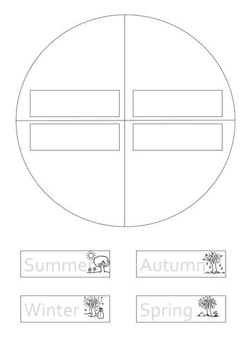 Seasons Wheel by Jodiec1984 - Teaching Resources - TES