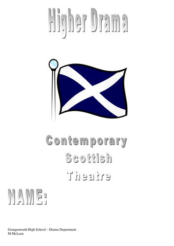 Contemporary Scottish Theatre Booklet