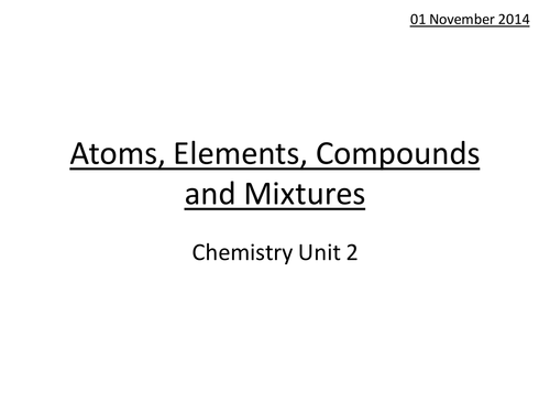 Elements or not HT