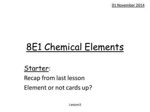 Elements or compounds HT