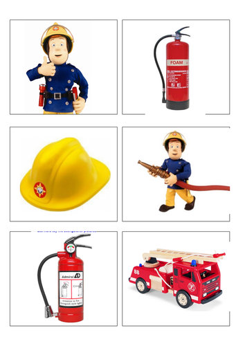 Fireman Sam lotto people who help us by Ibuzzybea  Teaching