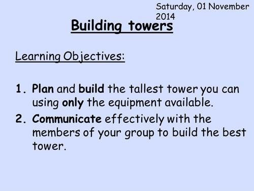 tower building enrichment HT