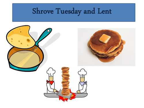 Lent & Shrove Tuesday
