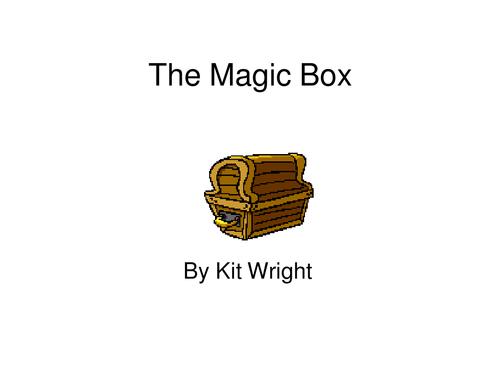 Magic box poem, alien theme,