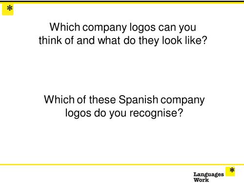 Company Logos Spanish Resources