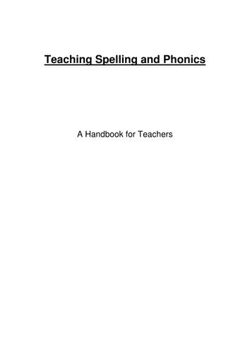 Spelling Handbook