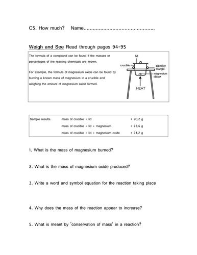 CG's C5 Revision Booklet