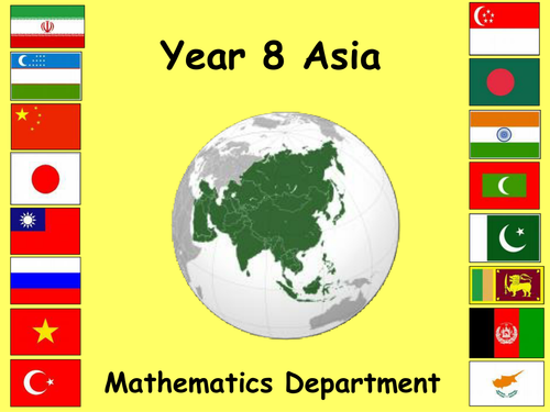 Maths and Asia