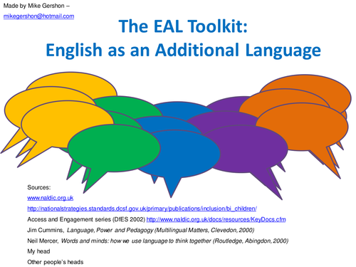 EAL Toolkit