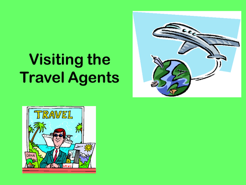 Travel Agents ppt.