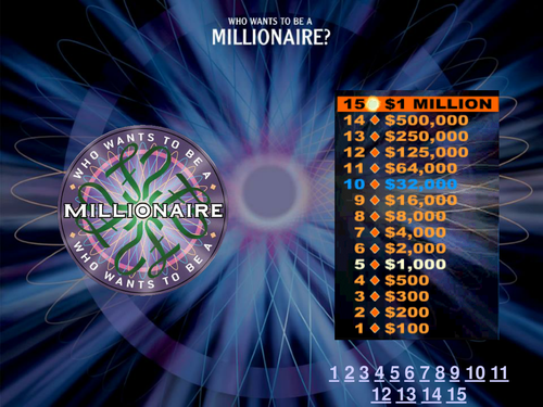 Who wants to be a carbon chemistry millionaire?