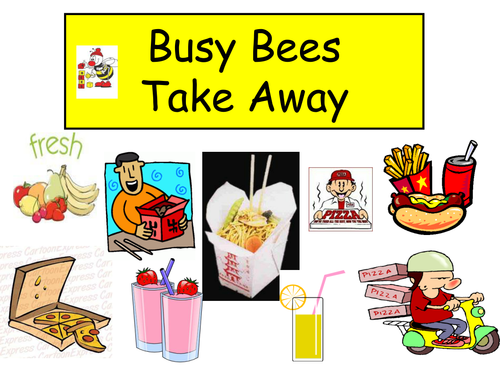 Role play Take-away posters