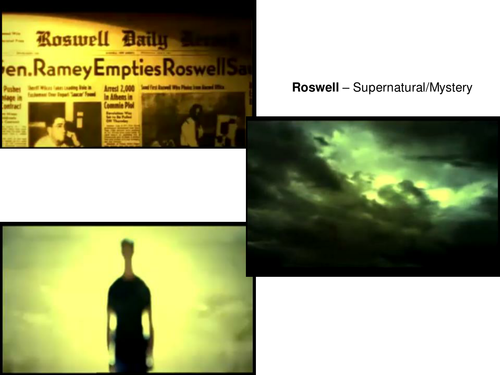 Signifiers in TV opening titles