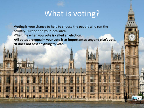 Voting in a General Election