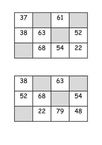 SSM Level 5: Angle Properties/Rules Bingo by MrBartonMaths