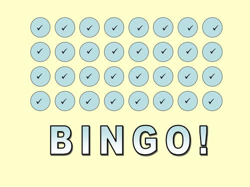 Angles on Parallel Lines Bingo