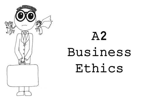 Model Essay  Business Ethics By Lisaidd  Teaching Resources  Tes Ocr A Business Ethics