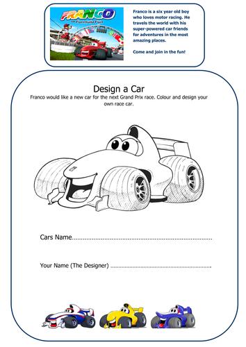 Design a Car for Franco