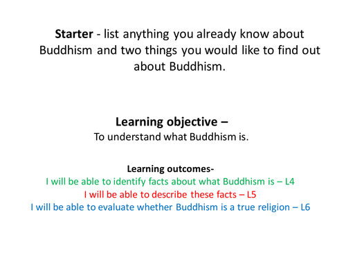 What is Buddhism?