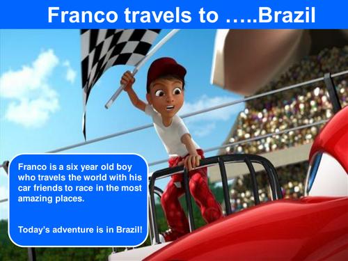 Franco travels to ....BRAZIL!