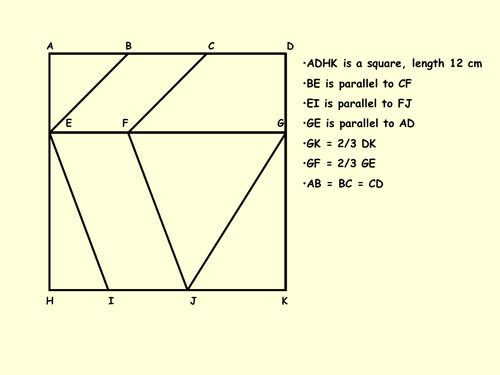 Area of Quadrilaterals and Triangles Puzzle by MrBartonMaths – Area of Triangles and Quadrilaterals Worksheet