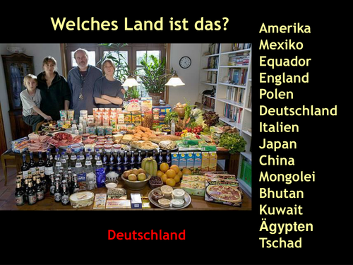 Food in other countries/ Group talk