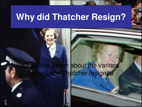 The Downfall of Thatcher