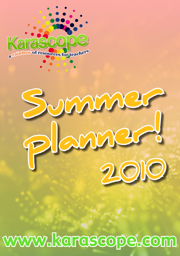 Karascope Summer Planner! 2010