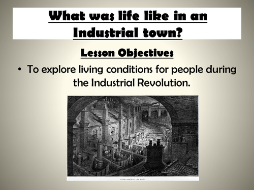 the industrial revolutionlesson learned essay Free essay: history is taught so that we can learn from the mistakes of the past and prevent them from happening again the industrial revolution was a.