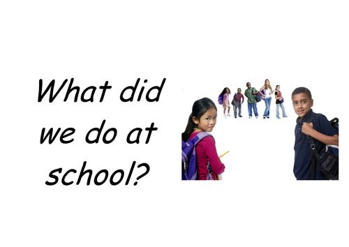 School Language Flip-book 2