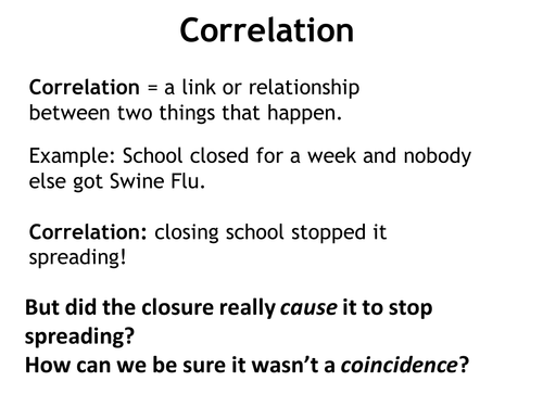 Correlation and cause by ceviche Teaching Resources TES – Correlation Worksheet
