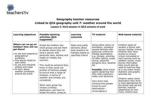 Teachers TV: Weather Around the World