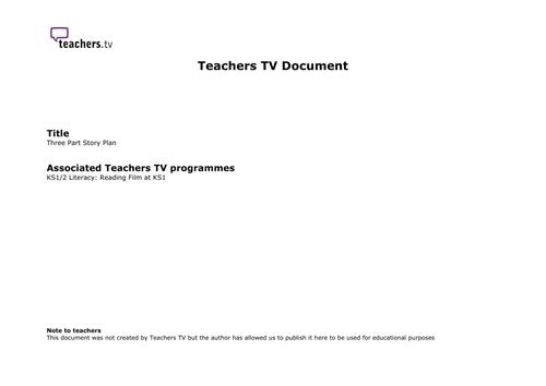 Teachers TV: Reading Film at KS1: Dangle