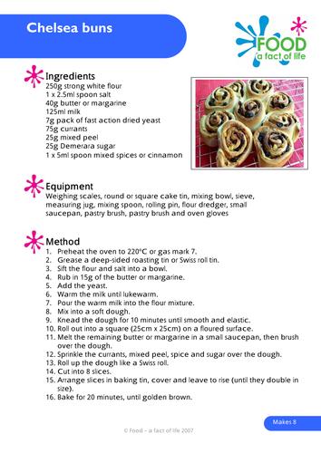 Brilliant baking - Baking recipes for the classroom
