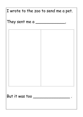 dear zoo by jenrath teaching resources tes