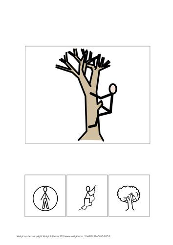 Symbol reading SubjVerbObj Bks 1-2 (Widgit CIP)