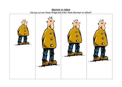 Maths: Estimating, <em>Weighing</em>, comparing height