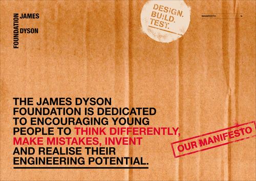 James Dyson Foundation Manifesto