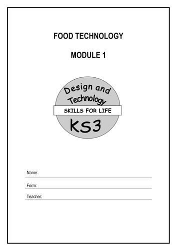 Food Technology Booklets DT - UPDATED 2011 by spb78 - Teaching ...