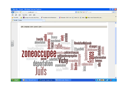 Occupied France wordle