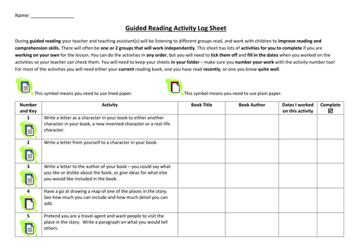 Guided reading independent activities by lilmizchattabox teaching guided reading independent activities by lilmizchattabox teaching resources tes ibookread ePUb