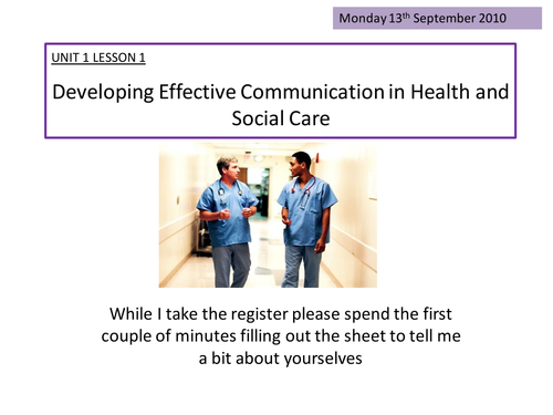 miss communication and social care