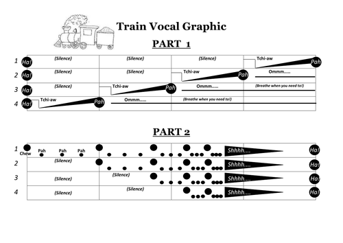 Vocal Train - Graphic Score