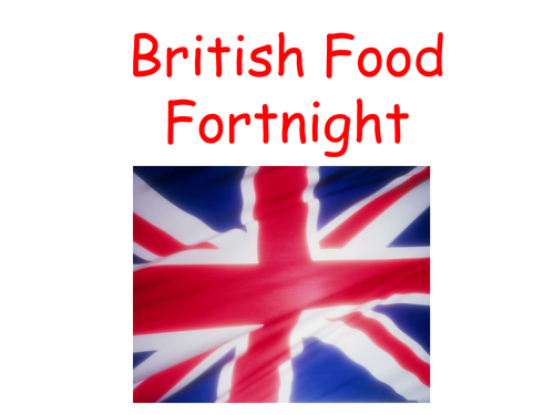 When Is British Food Fortnight