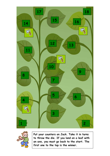 Jack & the beanstalk activity booklet by kayld | Teaching